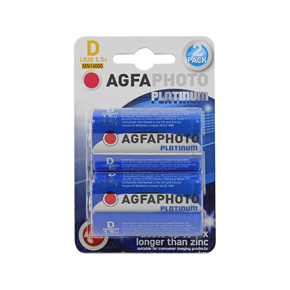 AgfaPhoto Piles D - 1.5V non-rechargeables LR20 AgfaPhoto Alcaline - 110802619