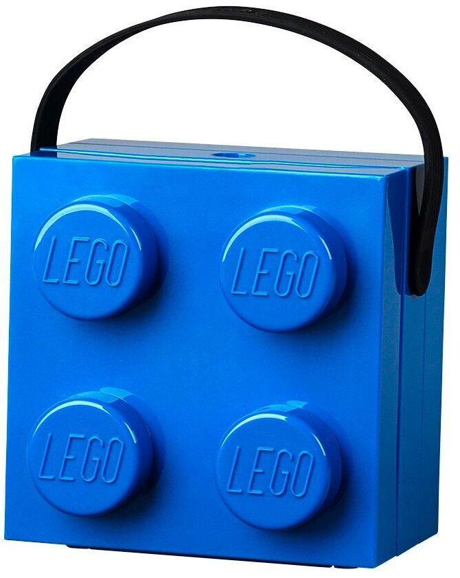 Lego Lunch Box LEGO avec Poignée Bleu