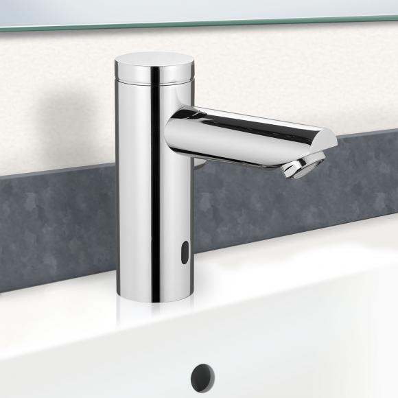 PREMIUM 400 Robinetterie de lavabo électronique, avec limiteur de température, PR1207