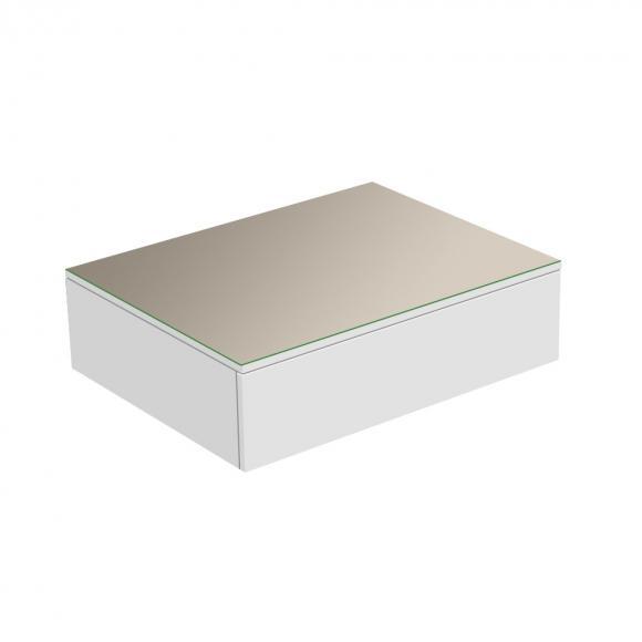 Keuco Edition 400 Buffet avec 1 plaque en verre et 1 tiroir, 31740740000