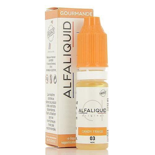 Alfaliquid Candy Fraise Alfaliquid 10ml 06mg
