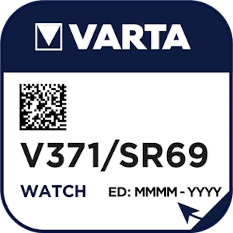 Varta Pile Montre Varta 371 / SR69 / SR920SW / AG6