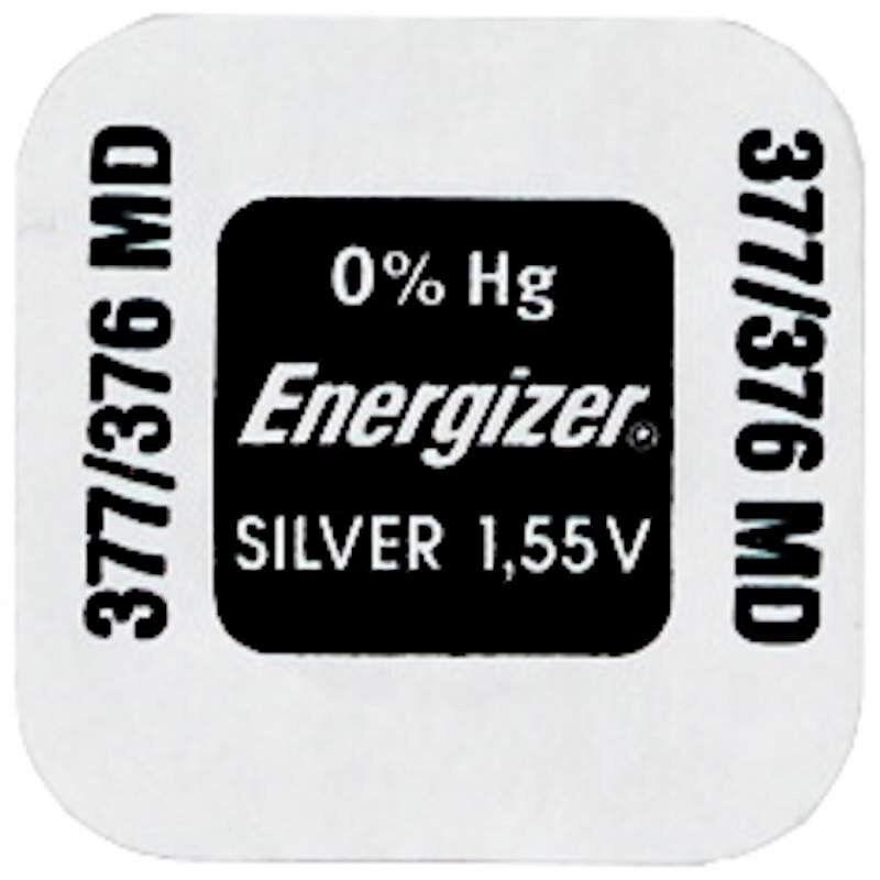 Energizer Pile Montre Energizer 377 / 376 / SR66 / AG4 / SR626SW