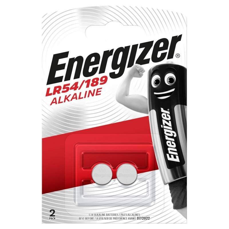 Energizer 2 Piles Alcaline Energizer 1,5V LR54 / 189 / V10GA