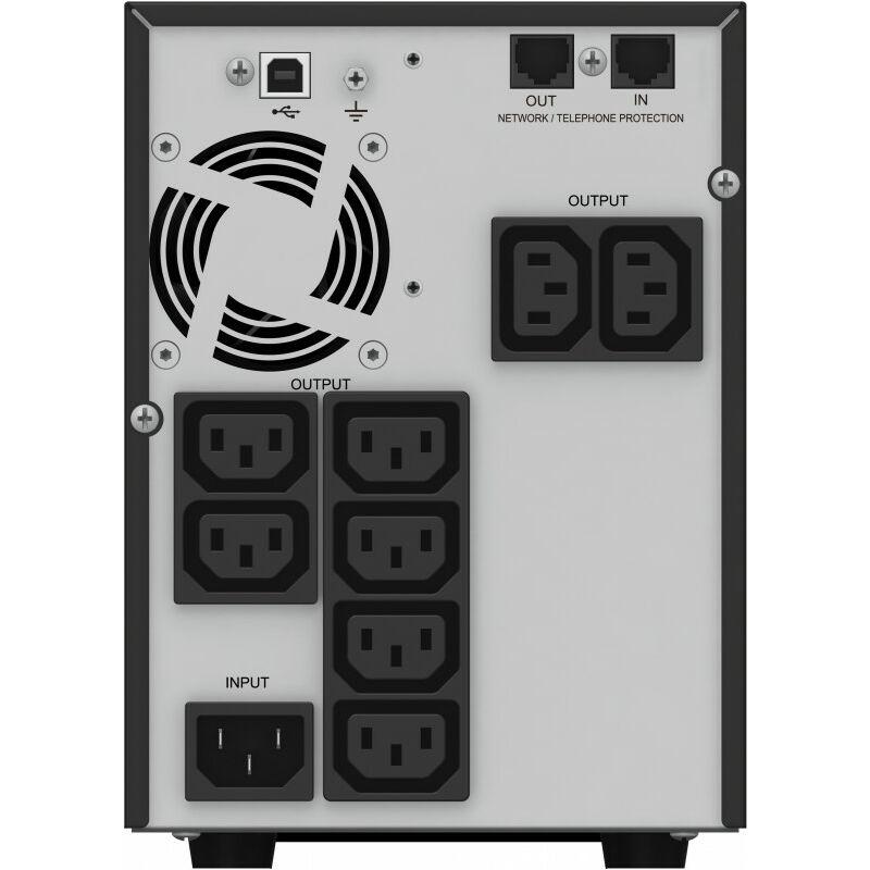 BlueWalker VI 1000T/HID - Interactivité de ligne - 1000 VA - 700 W - Sinus - 184 V - 276 V (10121008) - Bluewalker