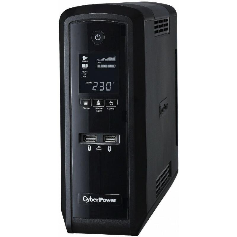 CyberPower Systems Onduleur Cyberpower CP1500EPFCLCD vert Power UPS 1500VA (CP1500EPFCLCD)