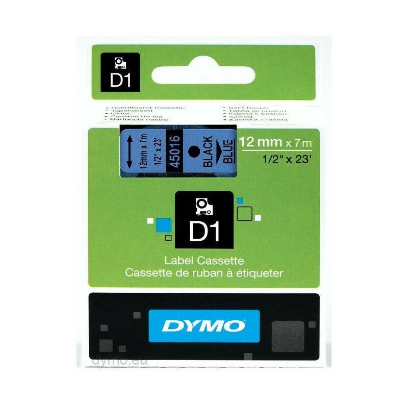 Dymo Ruban pour étiquettes printer 45016 12mm 7m noir printing/blueD1 (45016) - Dymo
