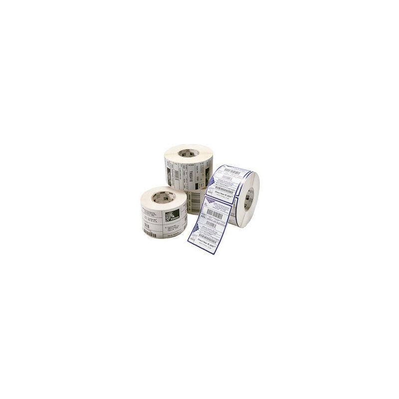 Zebra Direct 2100 - papier adhésif caoutchouc mat couché perforé permanent - 2580 unités (800261-105) - Zebra
