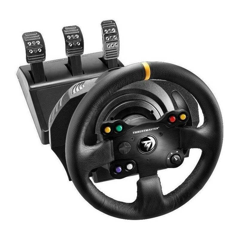 Thrustmaster 4460133 - Volant + pédales - PC,Xbox One - Noir - Xbox One (4460133) - Thrustmaster