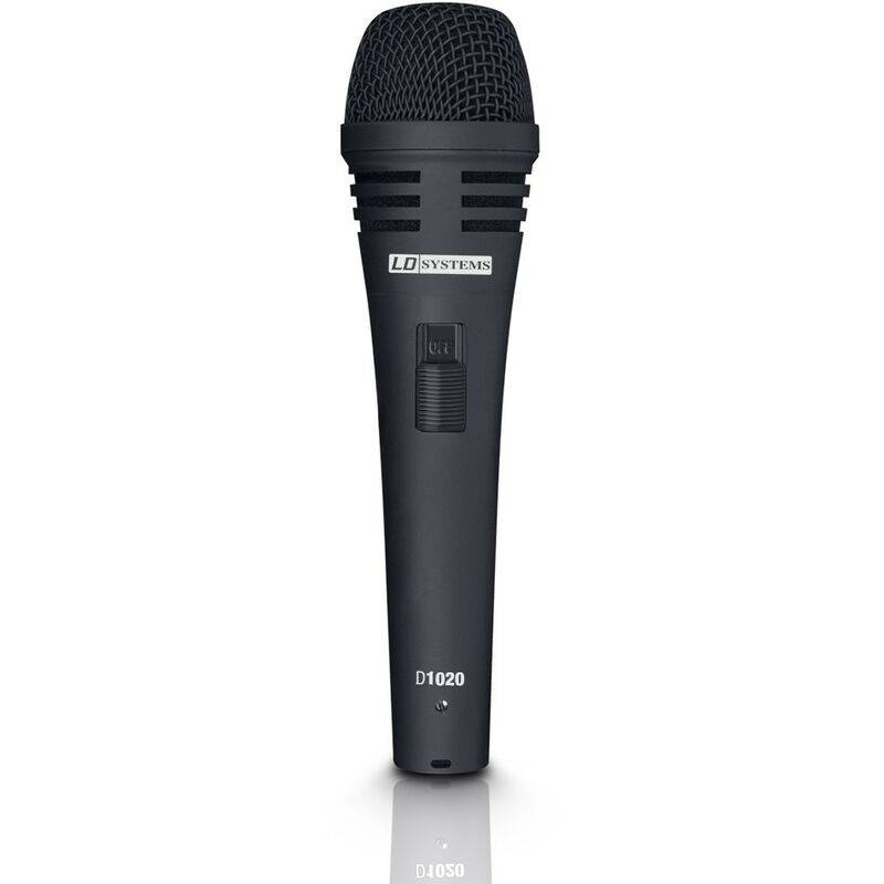 LD-SYSTEMS Microphone vocal dynamique D1020 LD Systems