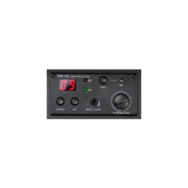 LD-SYSTEMS Récepteur sans fil UHF ROADMAN