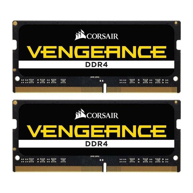 Corsair Vengeance CMSX32GX4M2A3000C16 - 32 Go - 2 x 16 Go - DDR4 - 3000 MHz - 260-pin SO-DIMM - Noir (CMSX32GX4M2A3000C16) - Corsair