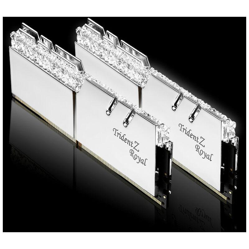 G.Skill Trident Z Royal F4-3600C18D-16GTRS - 16 Go - 2 x 8 Go - DDR4 - 3600 MHz - 288-pin DIMM (F4-3600C18D-16GTRS) - G.skill