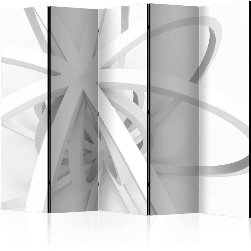 Artgeist - Paravent 5 volets Room divider – Openwork form II - Taille 225 x 172 cm