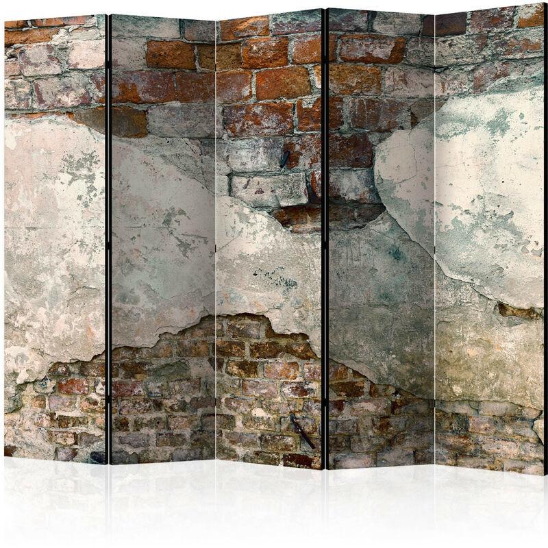 Artgeist - Paravent 5 volets Tender Walls II - Taille 225 x 172 cm