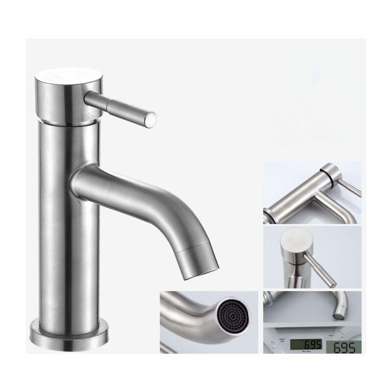 Ilovemilan - Robinet de salle de bain robinet de lavabo monotrou de chauffage et de refroidissement (C2