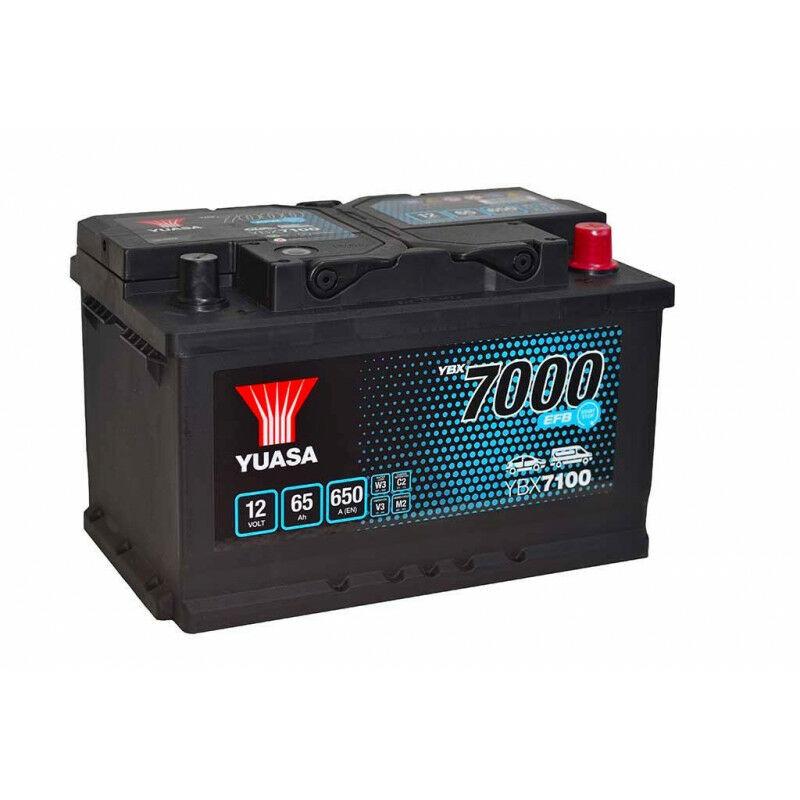 YUASA Batterie YUASA YBX7100 EFB 12V 65AH 650A