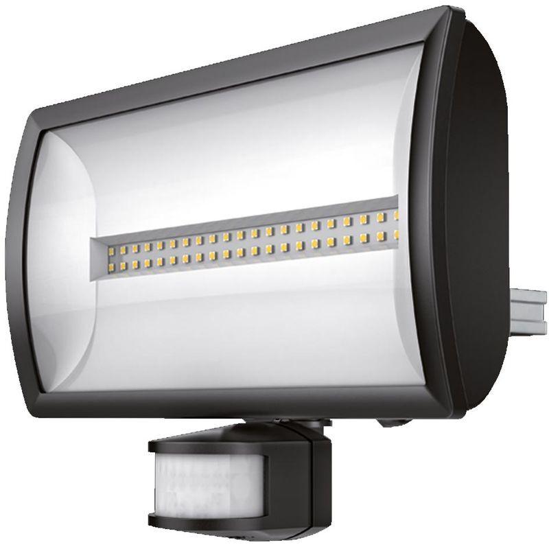 theben 1020816   theben 1020816 - projecteur led+detec 30w noir theleda ec30 bk