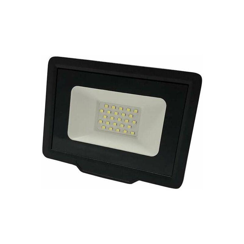 OPTONICA Projecteur LED 50W (250W) Noir Étanche IP65 4000lm - Blanc Naturel 4500K