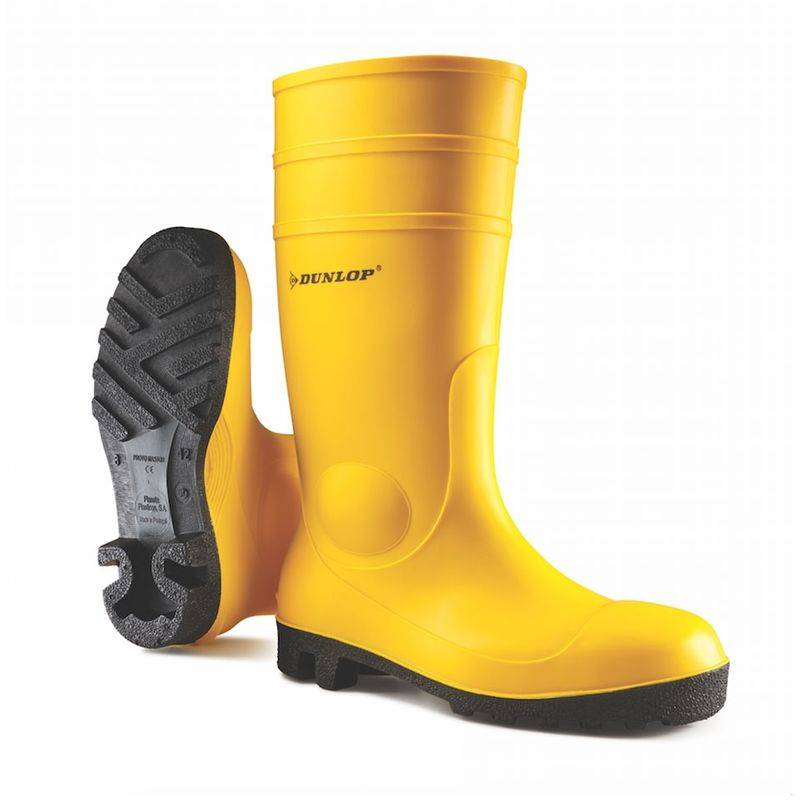 Dunlop Stivali da lavoro 142YP S5 SRA in PVC-45 - - 45 - Dunlop