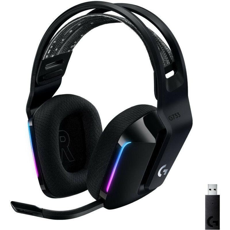 Logitech G733 Lightspeed Wireless RGB - Headset (981-000864)