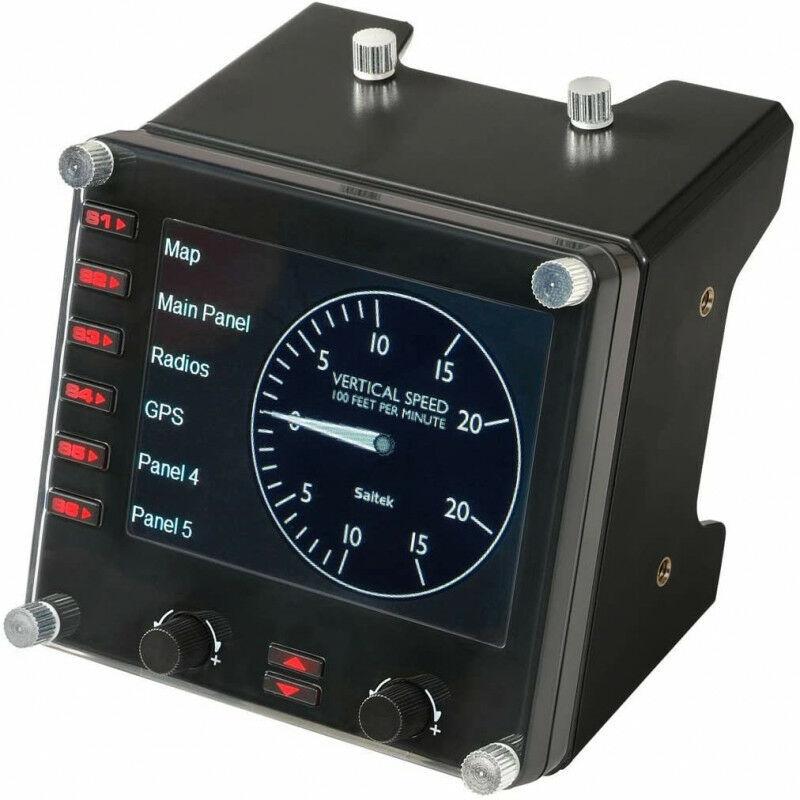 Logitech Pro Flight Instrument Panel - Noir (945-000008) - Logitech