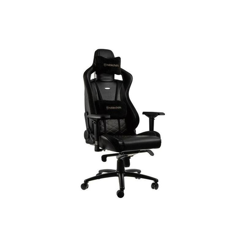 NOBLE CHAIRS Siège Gamer Noblechairs Epic Series Noir et Or