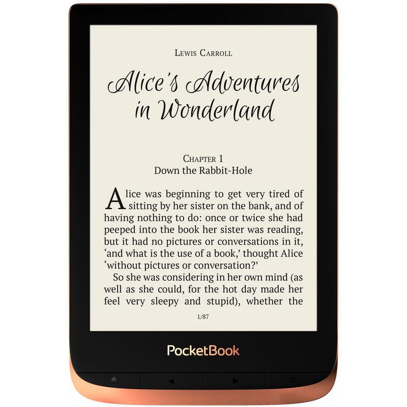 Pocketbook touch 3 hd spicy copper e-book e-book 6'' e-ink wifi 16gb