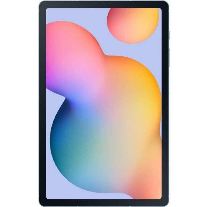 Samsung Tablette Tactile - SAMSUNG Galaxy Tab S6 Lite - 10.4 - RAM 4Go - Stockage 64Go - Android 10 - Bleu - WiFi