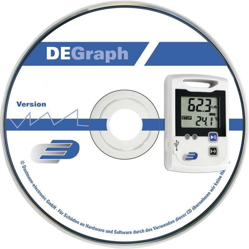 DOSTMANN ELECTRONIC 311041 Logiciel de mesure Pour marque (accessoire de lappareil de mesure) Dostm - Dostmann Electronic