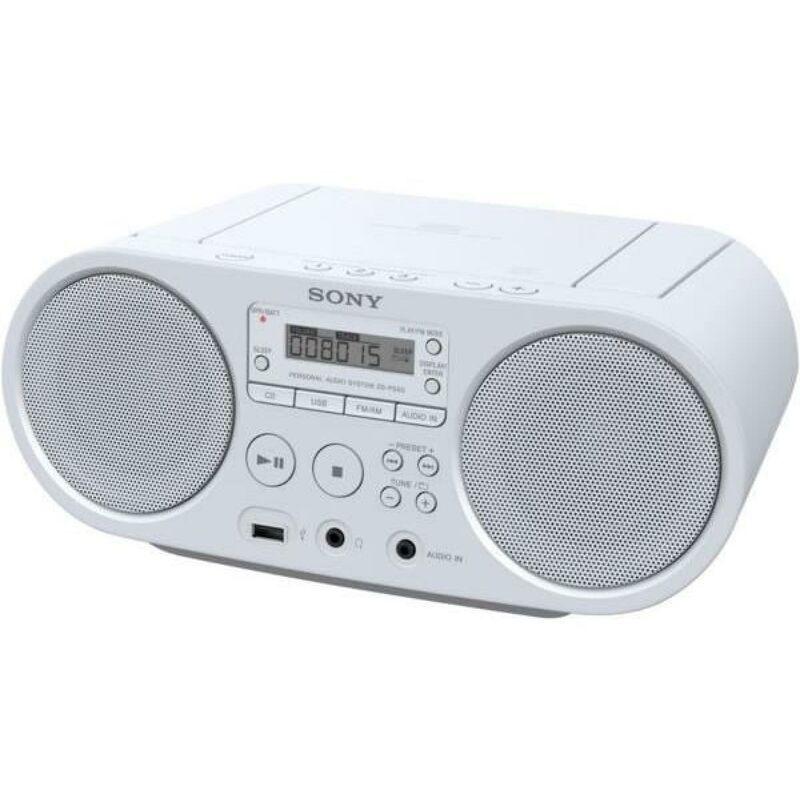 Sony ZSPS50W - Boombox CD USB - AM-FM - Blanc - Sony