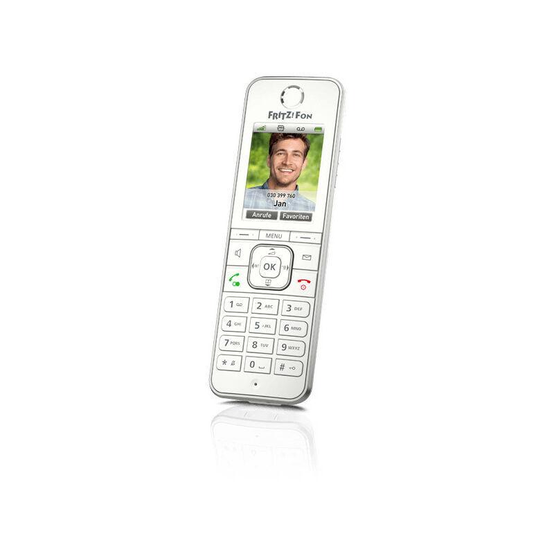 AVM FRITZ!Fon C6 - Téléphone DECT - Haut-parleur - 300 entrées - Identification de l'appelant - Blanc (20002848) - AVM