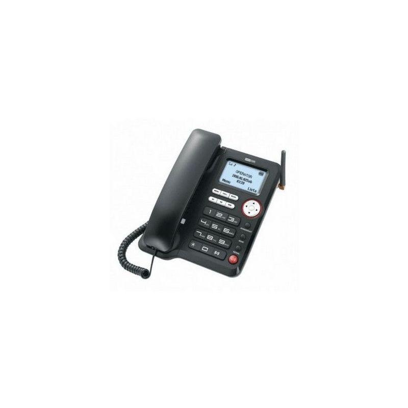 MAXCOM Téléphone fixe Filaire de MM 29D HS - Carte SIM - Noir - Maxcom