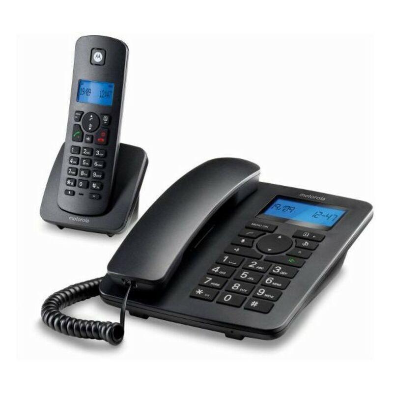Motorola Téléphone fixe Motorola C4201 Combo DECT (2 pcs) Noir