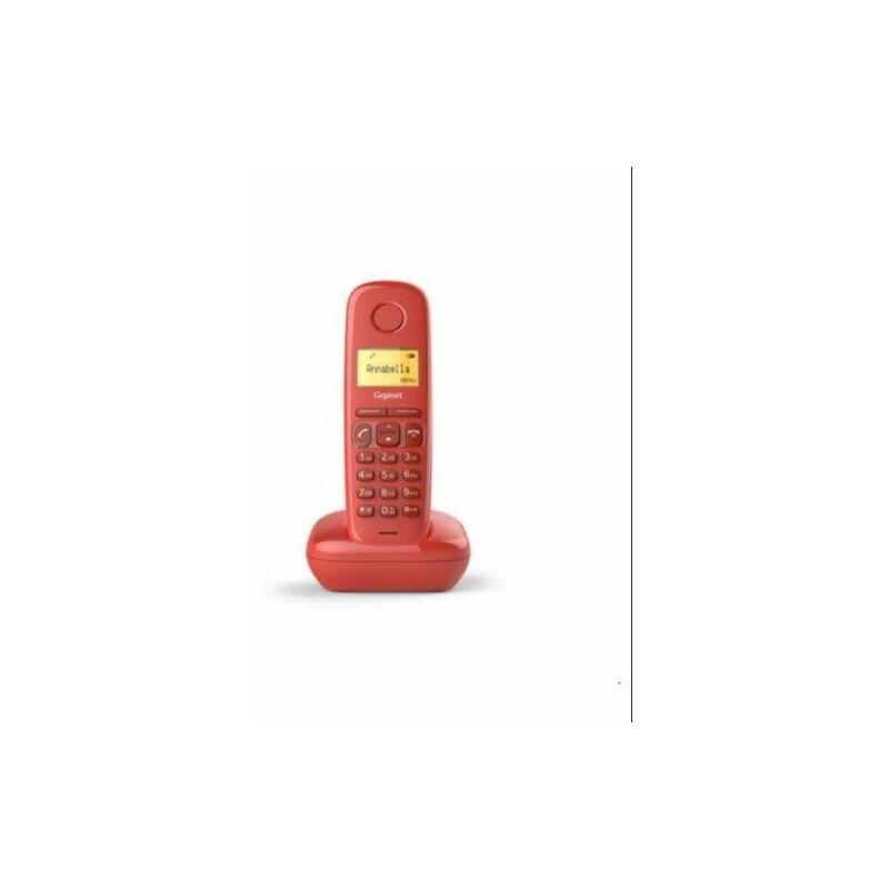 TIEN 21 Gigaset Téléphone Sans Fil Ai-170 Rouge