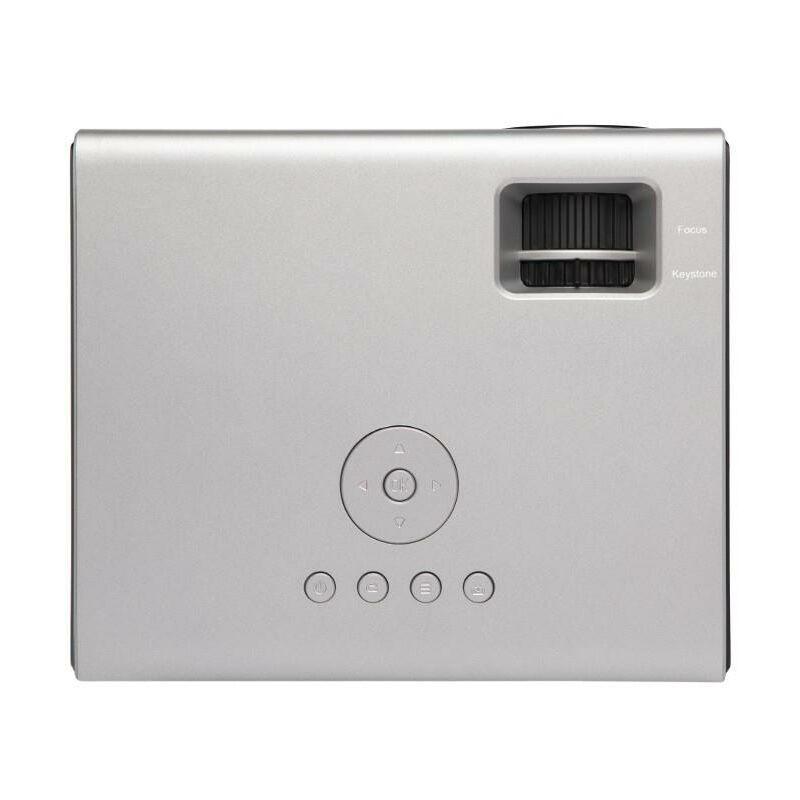 OVERMAX Multipic 3.5 Full HD LED Projector WiFi Projector Home Cinema Projector Haut-parleur Youtube intégré avec subwoofer HDMI USB D-Sub télécommande de