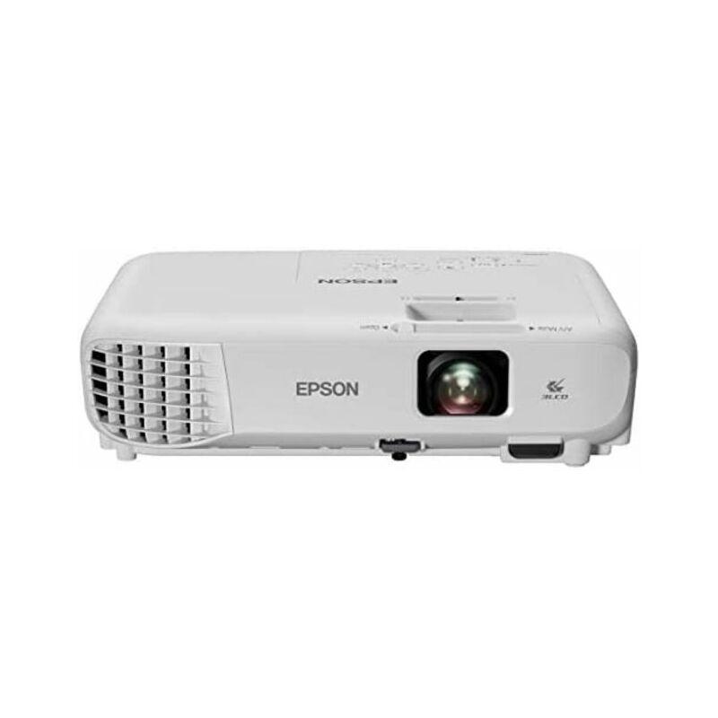 Epson EB-W06 - Projecteur 3LCD (rapport de contraste 16 000:1, lumière blanche et couleur, 3700 lumens, avec haut-parleurs) - Epson
