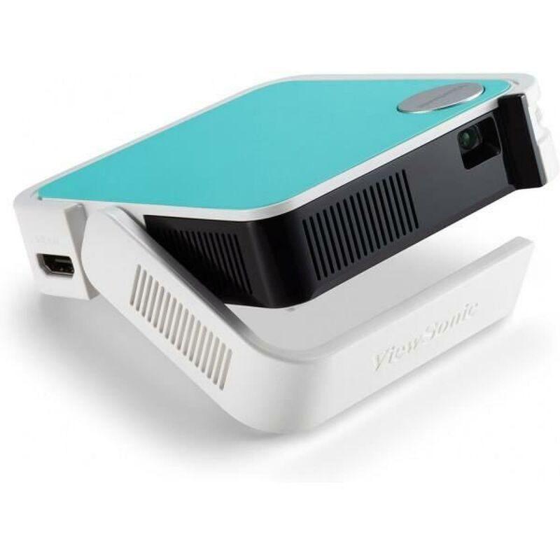 VIEWSONIC M1 Mini - Vidéoprojecteur de poche LED (854x480) - 120 lumens - Hauts-parleurs JBL - 2W - Batterie intégrée
