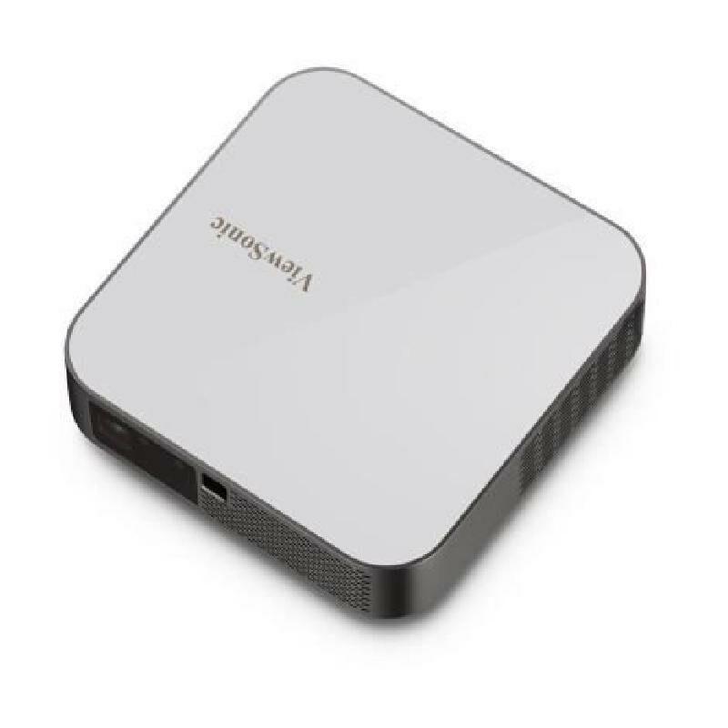 Viewsonic M2e - Vidéoprojecteur portable LED Full HD (1920x1080) - 2x3W - 1000 lumens LED - Bluetooth. Wi-fi. USB - Gris - Viewsonic