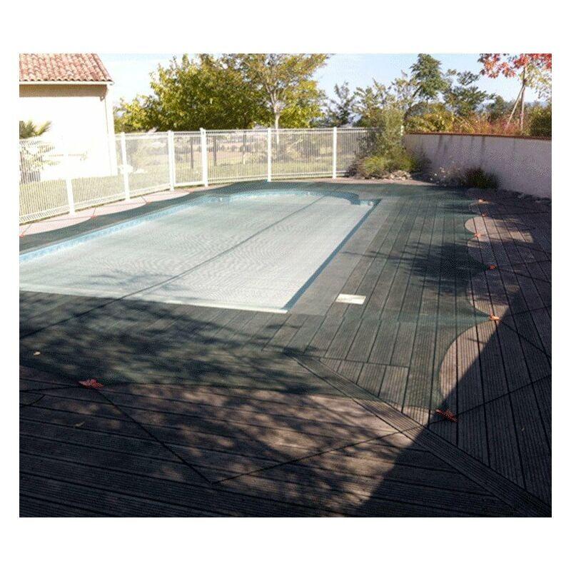 DIRECT FILET Filet anti-feuilles et végétaux pour piscine   Taille Filet: 6 x 12 m