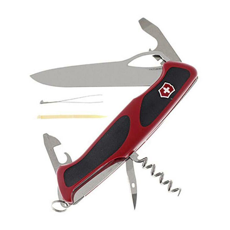 Victorinox RangerGrip 61 0.9553.MC Couteau suisse Nombre de fonctions 11 rouge, noir Y064071