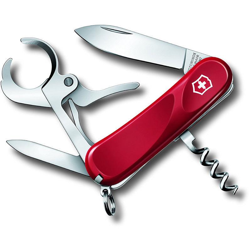 Victorinox Couteau suisse Victorinox Cigare 36 poids 58 grammes couleur rouge 8 fonctions 2.5703.E ligne d'évolution