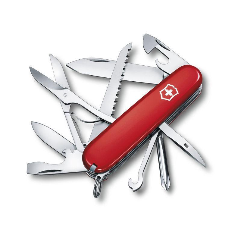 Victorinox Couteau suisse Victorinox Fieldmaster 1.4713 rouge avec 15 instruments idéal pour l'extérieur poids 99 grammes