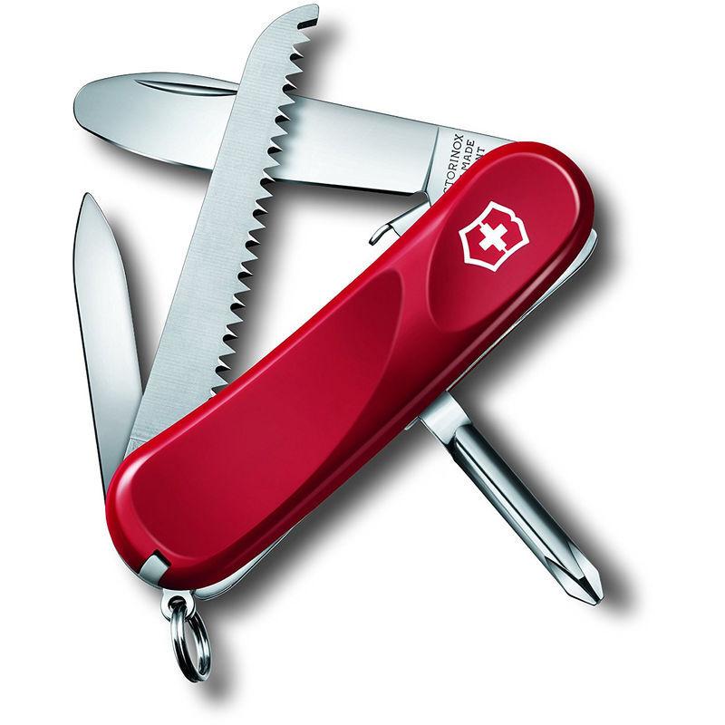 Victorinox Couteau suisse Victorinox Junior 09 avec 8 fonctions 56 grammes rouge 2.4213.SKE