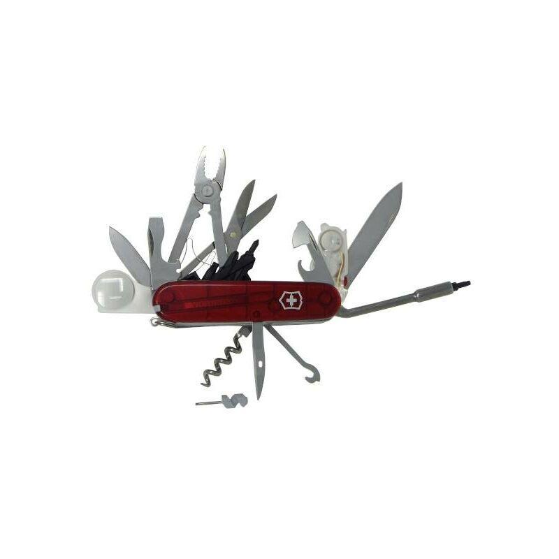 Victorinox CyberTool Lite 1.7925.T Couteau suisse Nombre de fonctions 36 rouge (transparent) W96339