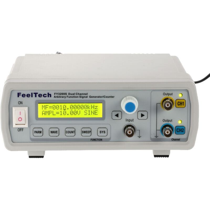 HAPPYSHOPPING Serie FY3200 a controle numerique complet forme d'onde arbitraire a double canal Generateur de signaux de fonction DDS Niveau TTL Comptage de