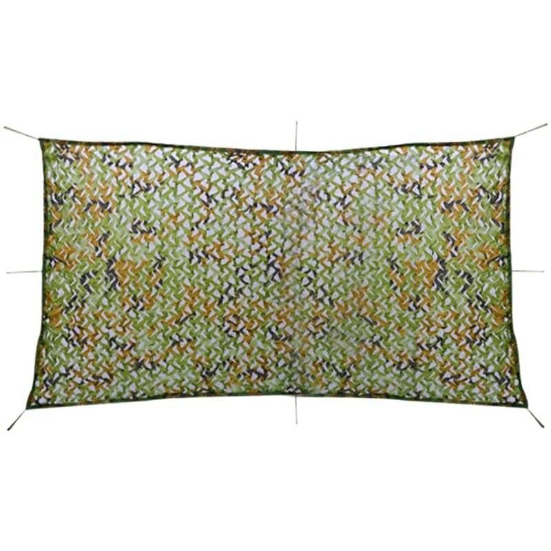 Vidaxl - Filet de camouflage avec sac de rangement 1,5 x 3 m