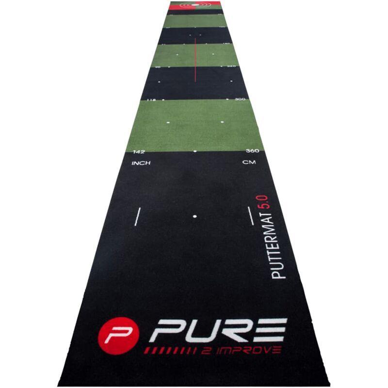 PURE2IMPROVE Tapis de putting de golf 500 x 65 cm P2I140020 - Pure2improve