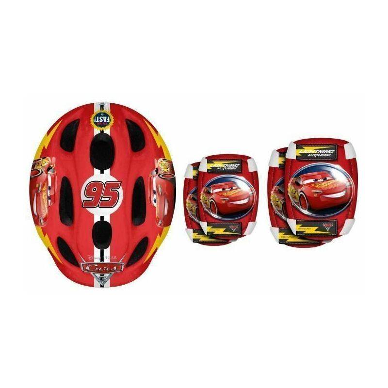 STAMP CARS Casque + Coudieres/Genouilleres