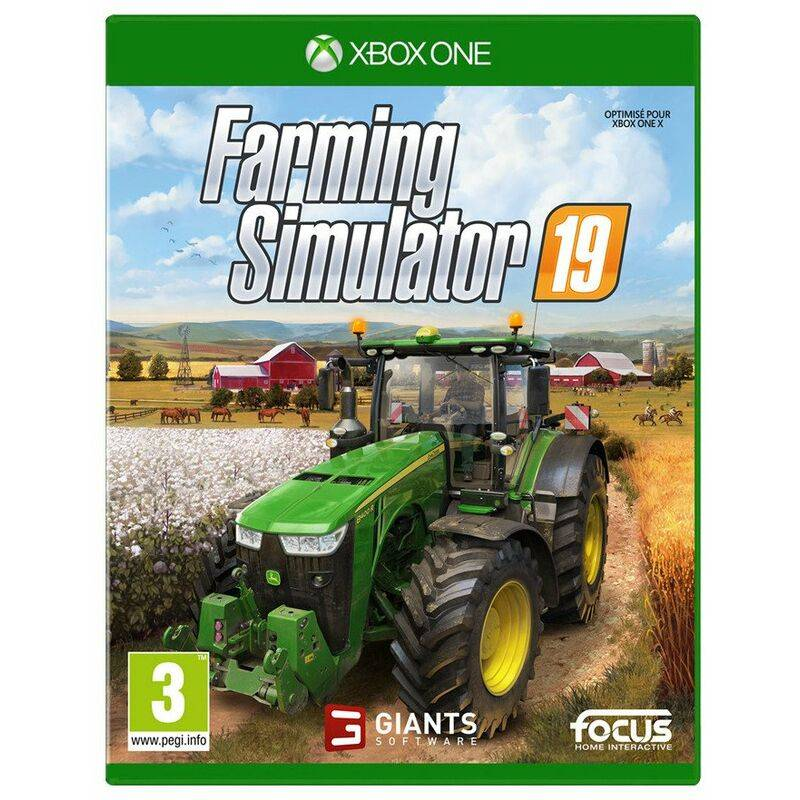 farming simulator 2019 jeu xbox one